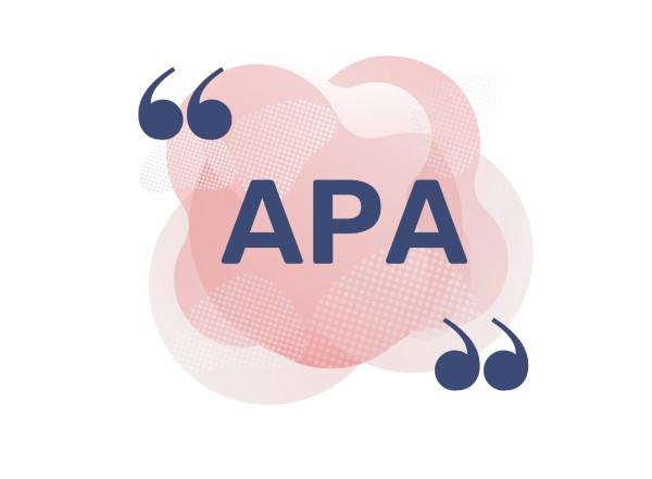 La norme APA  résolument adaptée aux travaux académiques