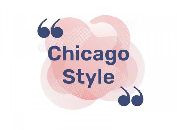 La norme Chicago Style éditée par les Presses de l'Université de Chicago