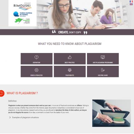Your plagiarism-prevention website